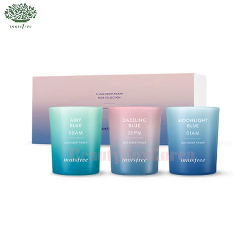 INNISFREE Jeju Scent Picker Candle Set 100ml [BLUE Collection]